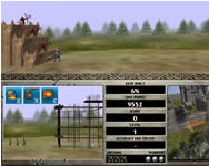 Castle attack 2 shockwave lövöldözős