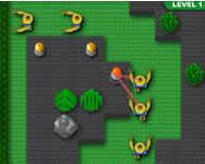 Minfig Zombie Tower Defence online j�t�k
